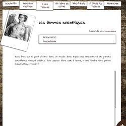 S'CAPE-Les femmes scientifiques