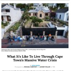 Cape Town: What It's Like to Live Through Water Crisis