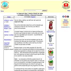 La Caperucita Roja - Cuento Infantil - Actividades Infantiles y Educacion Preescolar