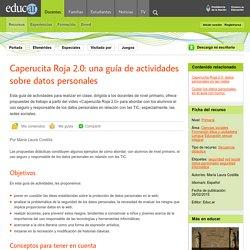 Caperucita Roja 2.0: una guía de actividades sobre datos personales