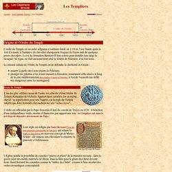 Capétiens : Les Templiers