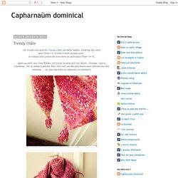 Capharnaüm dominical : Trendy châle