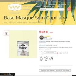 Base masque capillaire nourrissant 100% naturel pour des boucles rebondies et définies - WAAM Cosmetics