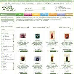 Terre de couleur propose des produits de soins capillaires naturelles à l'argile et aux huiles essentielles