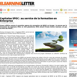 Capitaine SPOC : au service de la formation en Enterprise