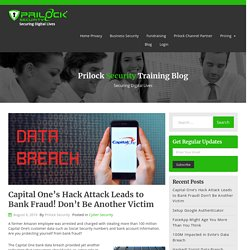 Capital One's Hack Attack Leads to Bank Fraud! Don't Be Another Victim