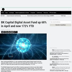BK Capital Digital Asset Fund up 68% in April and now 172% YTD