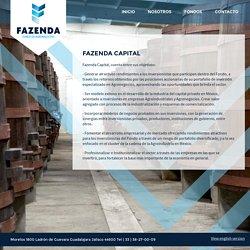 Capital Fazenda - Fazenda