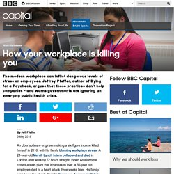 Capital - How your workplace is killing you
