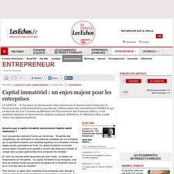 Capital immatériel : un enjeu majeur pour les entreprises