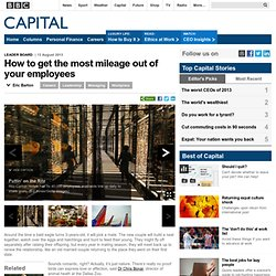 Capital - How to get the most mileage out of your employees