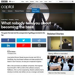 Capital - What nobody tells you about becoming the boss