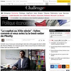 """""""Le capital au XXIe siècle"""" : faites comme si vous aviez lu le best-seller de Piketty"""