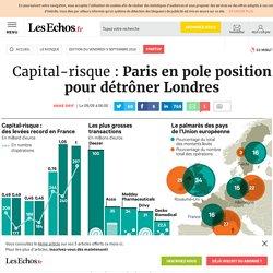 Capital-risque: Paris en pole position pour détrôner Londres, startup