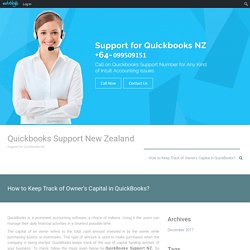 How to Keep Track of Owner's Capital in QuickBooks?