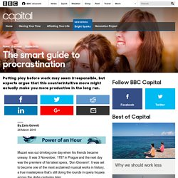 Capital - The smart guide to procrastination