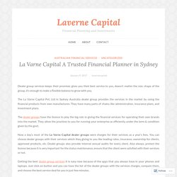 La Varne Capital A Trusted Financial Planner in Sydney – Laverne Capital