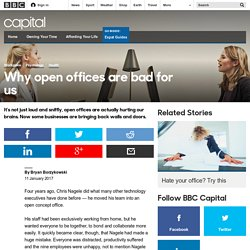 Capital - Why open offices are bad for us
