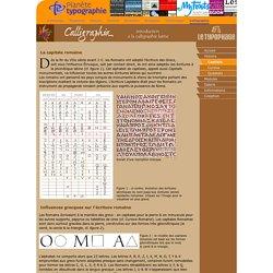 La capitale romaine: aux origines de l'alphabet romain