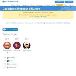 Capitales et drapeaux d'Europe jeux gratuits