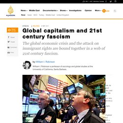 Global capitalism and 21st century fascism