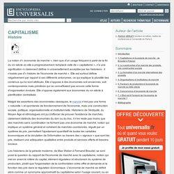 CAPITALISME - Histoire