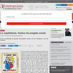 Le capitalisme, facteur de progrès social
