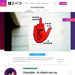 30 sept. 2020 - Grenoble : ils disent non au capitalisme hospitalier