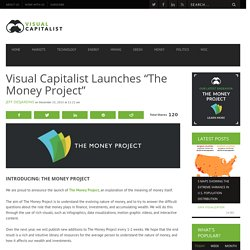 "Visual Capitalist launches ""The Money Project"""