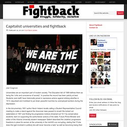Capitalist universities and fightback « Workers Party (NZ)