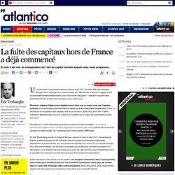 La fuite des capitaux hors de France a déjà commencé