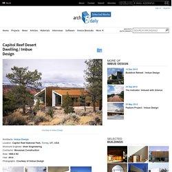 Capitol Reef Desert Dwelling / Imbue Design
