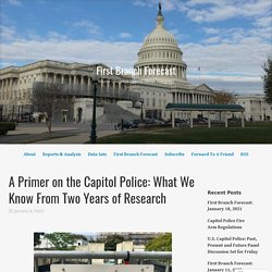 1/6/21: Capitol Police- What We Know From 2 Years of Research