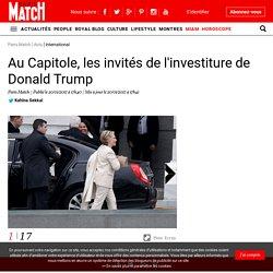 Au Capitole, les invités de l'investiture de Donald Trump