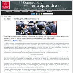Site UT1 Capitole Mag - Police : le management en question