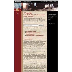 Capitolium.org - Imperial Forums Official Website - Rome, Italy - Il sito ufficiale dei Fori Imperiali di Roma