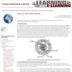 Capítulo 18 - Redes sociales educativas