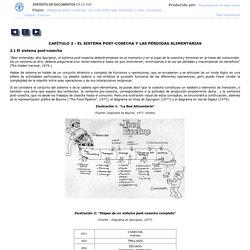 CAPÍTULO 2. EL SISTEMA POST-COSECHA Y LAS PÉRDIDAS ALIMENTARIAS