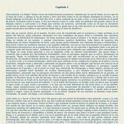 Capítulo 1... Rayuela... Julio Cortázar...