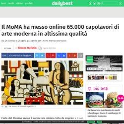Il MoMA ha messo online 65.000 capolavori di arte moderna in altissima qualità