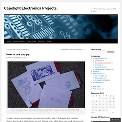 Capolight Electronics Projects.