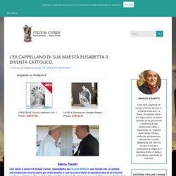 L'EX CAPPELLANO DI SUA MAESTÀ ELISABETTA II DIVENTA CATTOLICO.