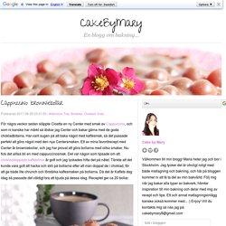 Cappuccino browniebollar - CakeByMary