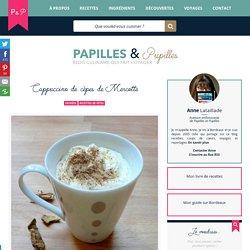 Cappuccino de cèpes de Mercotte