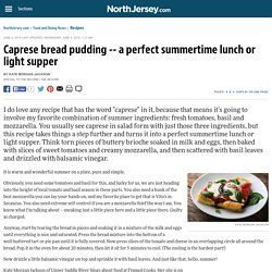 a perfect summertime lunch or light supper - Recipes