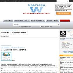 CAPRICCIO - FILIPPA GIORDANO