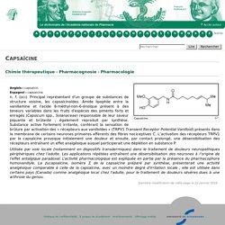 Capsaïcine - Acadpharm