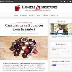 Capsules de café : danger pour la santé ?