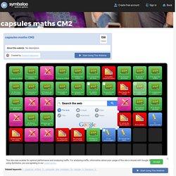 capsules maths CM2