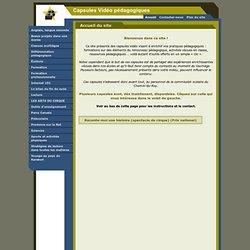 Capsules Vidéo pédagogiques - Tableau blanc interactif